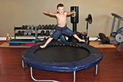 Indoor Trampoline for Autistic Children