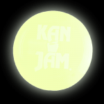 KanJam Flying Disc - Glow in the Dark