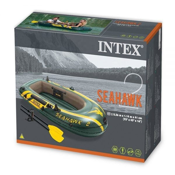 Intex Seahawk Inflatable Boat Box