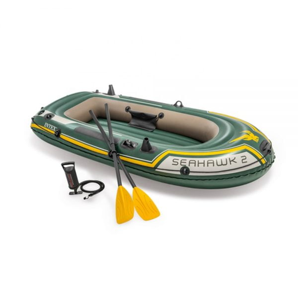 Intex Seahawk 2 Inflatable Boat with Paddles and Pump