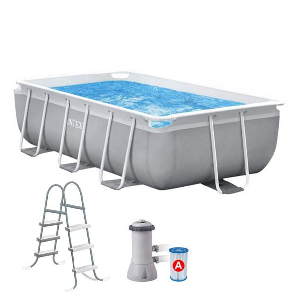 Intex Backyard Pool with Ladder and Filter