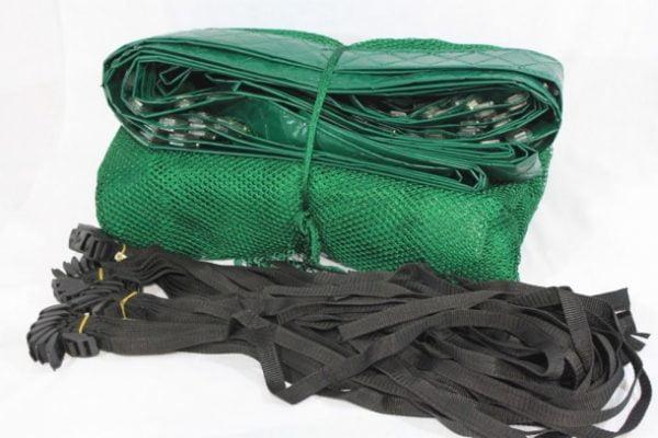 Trampoline Enclosure Net 14' Standard Replacement Green