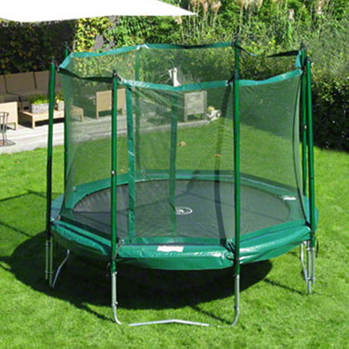 12' Jump Free Trampoline with Magic Circle Enclosure