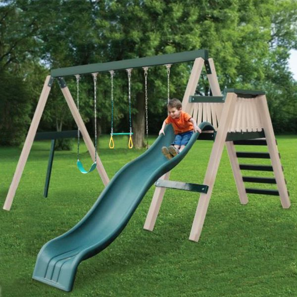 Congo Swing 'N Monkey 2 Position Play Set - Green and Tan