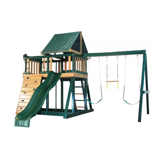Congo Monkey Play Set with Slide & Swings
