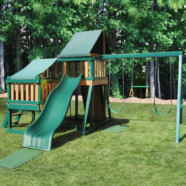 Monkey Play Set with Slide & Swings