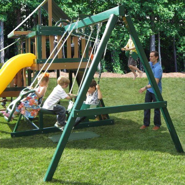 Monkey Play Set with Slide & Swings