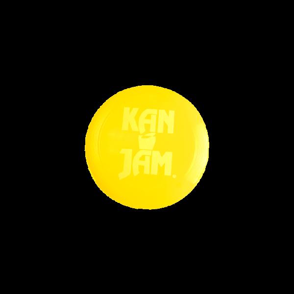 KanJam Flying Disc - Yellow
