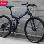 Bike Black and Blue - 40mm Rim