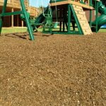 Playground Recycled Rubber Mulch Cypress 72.5-75 cu ft