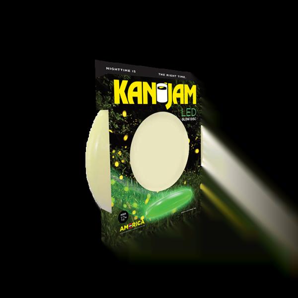 KanJam Flying Disc LED Glow