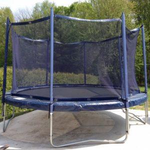 14' Jump Free Trampoline with Magic Circle Enclosure