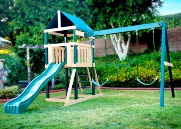 Safari Swing Set